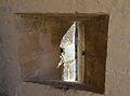 Espitllera de la torre de santa Caterina, castell de la santa Bàrbara, Alacant.JPG