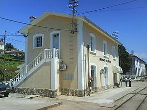 Narrow-gauge railways in Portugal - Sernada do Vouga railway station on the Vouga line