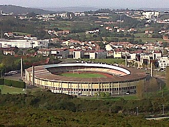 SD Compostela - View of Estadio Multiusos de San Lázaro.