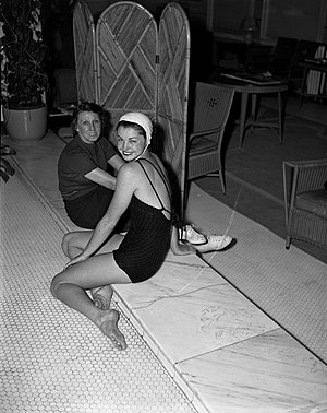 Esther Williams - Williams at the L.A. Athletic Club in 1939.
