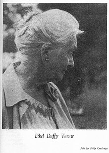 Fotografía de la periodista Ethel Duffy Turner.
