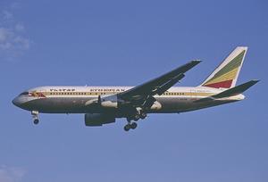 Ethiopian Airlines Boeing 767-200ER ET-AIF FRA 2001-5-11.png