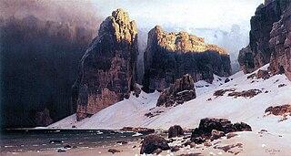 Matterhorn Painting German Artist