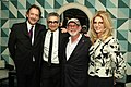 Eugene Levy and Slawko Klymkiw, Eugene Levy, Norman Jewison and Lynne St. David-Jewison at the 2013 CFC in L.A. event. (48198970792).jpg