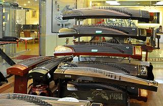 Guzheng Chinese music instrument