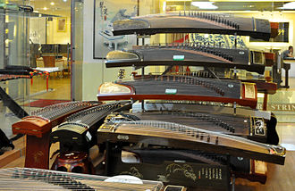 Guzheng - Image: Even more Guzhengs (古箏) cropped