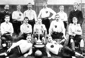 Everton F.C. - One of the first Everton FC teams, 1887