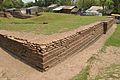 Excavated Brick Structure - Khana-Mihir Mound - Berachampa - North 24 Parganas 2015-04-11 7146.JPG