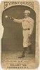 Ezra Sutton, Boston Beaneaters, baseball card portrait LCCN2007680723.tif
