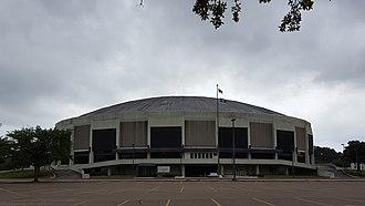 Southern Jaguars basketball - F. G. Clark Center