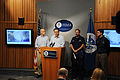 FEMA - 38276 - FEMA Administrator Paulison at the podium in the FEMA Press Brie.jpg