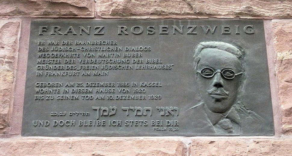 FFM Franz-Rosenzweig-Gedenktafel