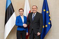 FM Keit Pentus-Rosimannus met with Polish Foreign Minister Grzegorz Schetyna in Warsaw (17055144420)