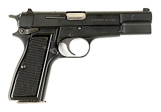 Browning Hi-Power American semi-automatic pistol