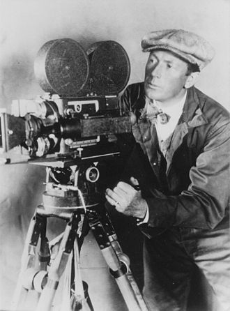 F. W. Murnau - Murnau shooting a film in 1920