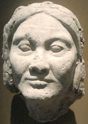 Thutmose (sculptor) - Image: Face Of An Older Amarna Woman Thutmose Workshop Metropolitan Museum