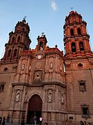 Fachada de la Catedral Metropolitana de San Luis Potos%C3%AD