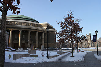 Convocation Hall (University of Toronto) - Convocation Hall Facing north