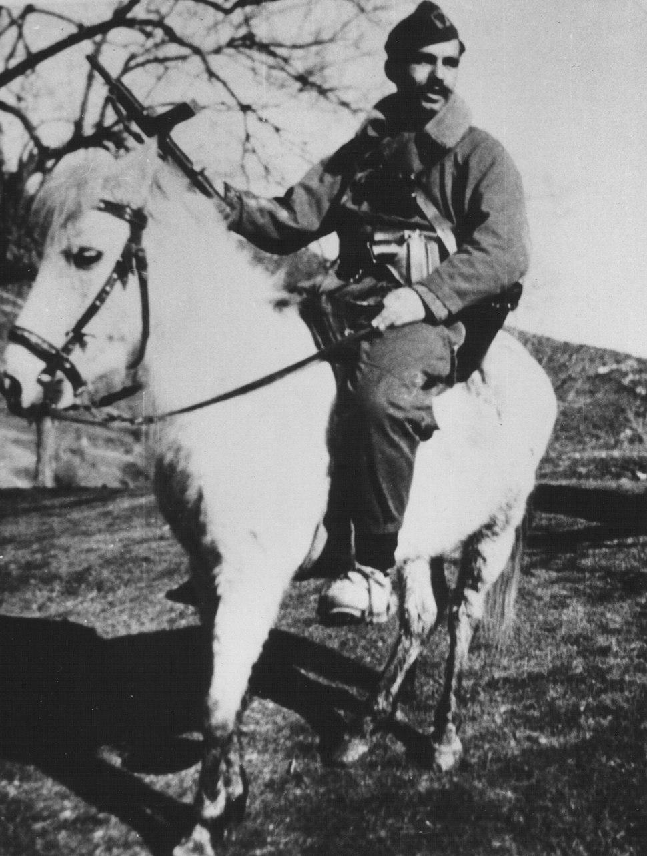 Fadil Hoxha, commander of Kosovo partisans
