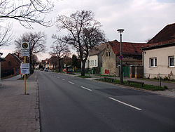 View of Dorfstraße