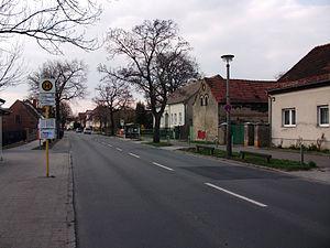 Falkenberg (Berlin) - View of Dorfstraße