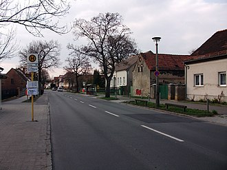 Falkenberg (Berlin) - View of Dorfstraße