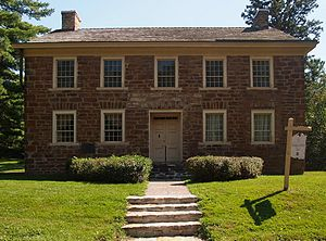 Sibley Historic Site - The Faribault House, Mendota, Minnesota