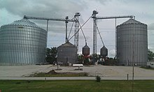 Farmer's Coop Grain elevators in Macksburg.jpg