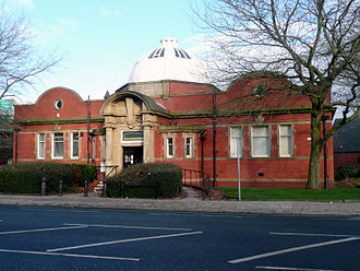 Bradshaw Gass & Hope - Image: Farnworth Branch Library