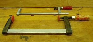 F-clamp - F-clamps