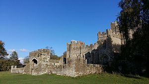 Featherstone Castle - Featherstone Castle in October 2016.