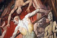 Federico zuccari, inferno, 1574-79, 14 diavolo.JPG