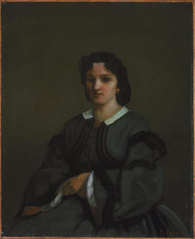 Woman with Gloves