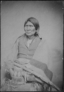 Horseback (Comanche) Nokoni Comanche chief