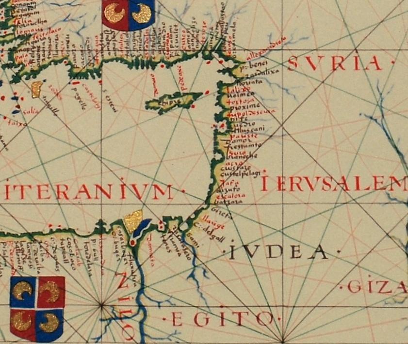 Fernão Vaz Dourado 1570-1 Middle East