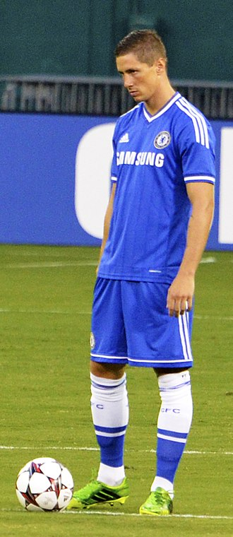 Fernando Torres - Torres playing for Chelsea in 2013