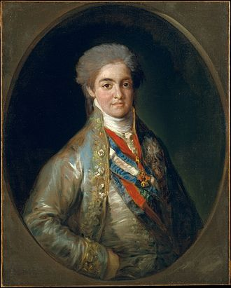 Ferdinand VII of Spain - Young Ferdinand as Prince of Asturias, 1800