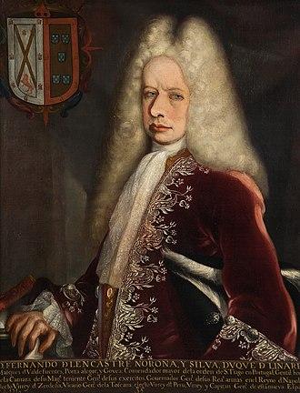 Fernando de Alencastre, 1st Duke of Linares - Portrait of Alencastre
