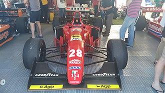 Ferrari 412 T1 - Ferrari 412 T1 of Gerhard Berger at Adelaide Motorsport Festival 2015.
