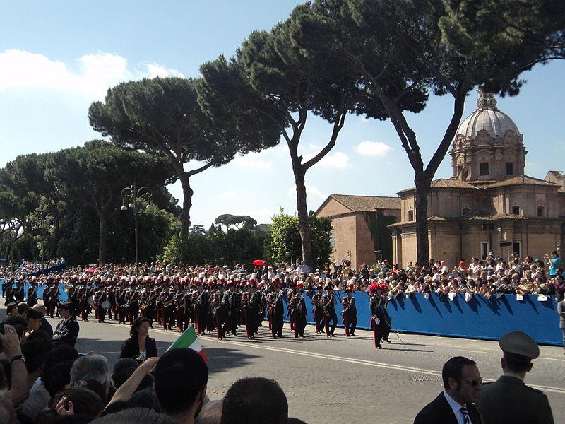 Calendário de eventos da Itália