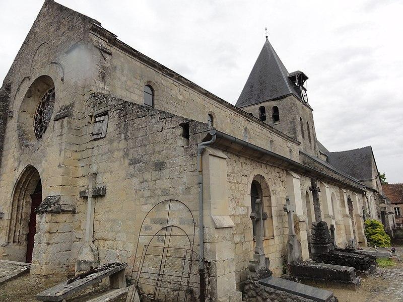 Festieux (Aisne) église Saint-Pierre