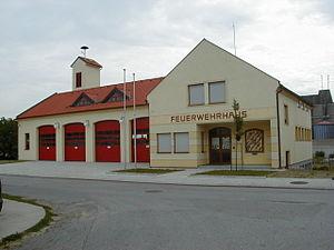 Nickelsdorf - Image: Feuerwehrhaus Nickelsdorf