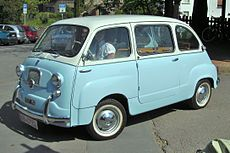 fiat 600 wikipedia la enciclopedia libre. Black Bedroom Furniture Sets. Home Design Ideas