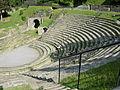 Fiesole, area archeologica, teatro 01.JPG