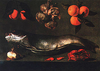 Nature morte au poisson