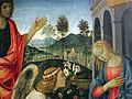 Filippino lippi, annunciazione coi ss g. battista e andrea, 1483, Q42, 03.JPG