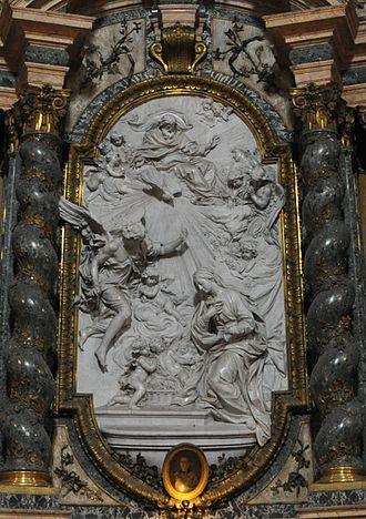 1750 in art - Image: Filippo della Valle – Annunziata