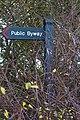 Fingerpost on Ditton Lane, Moreton.jpg