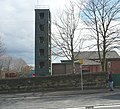 Fire Station practice tower, Cleckheaton - geograph.org.uk - 757468.jpg
