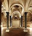 Firenze, santa trinita, cripta a trifoglio del 1150-1200 ca. 06,0.jpg